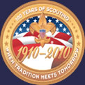 Boy Scouts of America 100 year aniversary